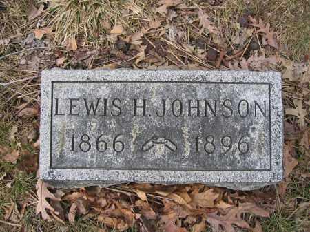 JOHNSON, LEWIS H. - Union County, Ohio | LEWIS H. JOHNSON - Ohio Gravestone Photos