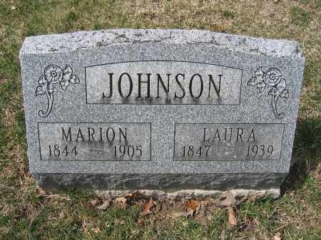 JOHNSON, MARION - Union County, Ohio | MARION JOHNSON - Ohio Gravestone Photos