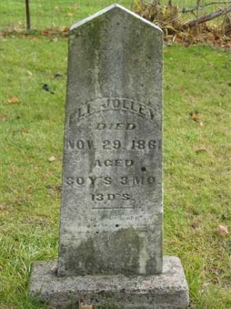 JOLLEY, ELI - Union County, Ohio   ELI JOLLEY - Ohio Gravestone Photos