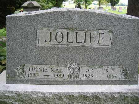 JOLLIFF, LINNIE MAE - Union County, Ohio   LINNIE MAE JOLLIFF - Ohio Gravestone Photos