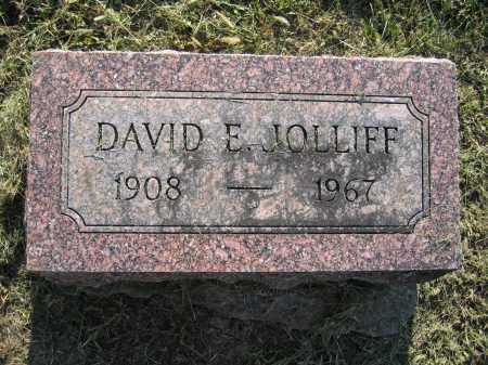 JOLLIFF, DAVID E. - Union County, Ohio | DAVID E. JOLLIFF - Ohio Gravestone Photos