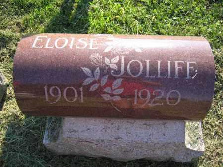 JOLLIFF, ELOISE - Union County, Ohio   ELOISE JOLLIFF - Ohio Gravestone Photos
