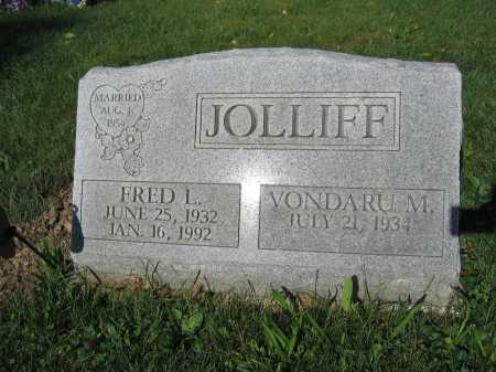 JOLLIFF, VONDARU M. - Union County, Ohio | VONDARU M. JOLLIFF - Ohio Gravestone Photos