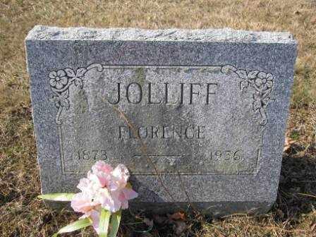 JOLLIFF, FLORENCE - Union County, Ohio   FLORENCE JOLLIFF - Ohio Gravestone Photos