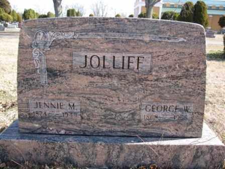 JOLLIFF, JENNIE M. - Union County, Ohio | JENNIE M. JOLLIFF - Ohio Gravestone Photos