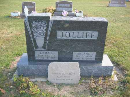 JOLLIFF, ERMA L. - Union County, Ohio | ERMA L. JOLLIFF - Ohio Gravestone Photos