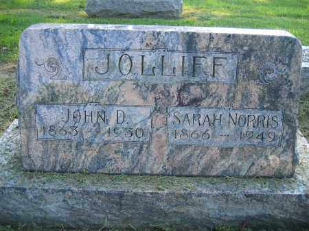 JOLLIFF, JOHN D. - Union County, Ohio | JOHN D. JOLLIFF - Ohio Gravestone Photos