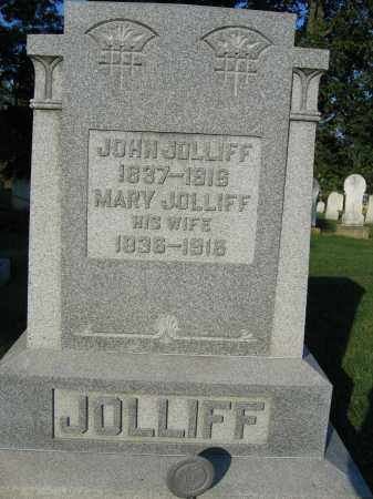 JOLLIFF, MARY - Union County, Ohio | MARY JOLLIFF - Ohio Gravestone Photos