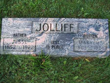 JOLLIFF, MARY M. - Union County, Ohio | MARY M. JOLLIFF - Ohio Gravestone Photos