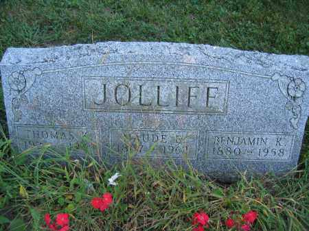 JOLLIFF, THOMAS K. - Union County, Ohio | THOMAS K. JOLLIFF - Ohio Gravestone Photos