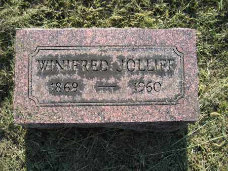 JOLLIFF, WINIFRED - Union County, Ohio | WINIFRED JOLLIFF - Ohio Gravestone Photos