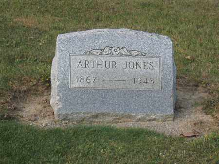 JONES, ARTHUR - Union County, Ohio | ARTHUR JONES - Ohio Gravestone Photos