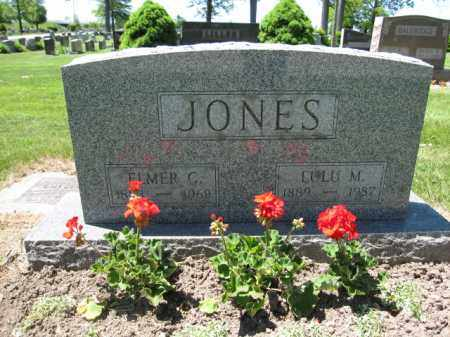 JONES, ELMER C. - Union County, Ohio | ELMER C. JONES - Ohio Gravestone Photos