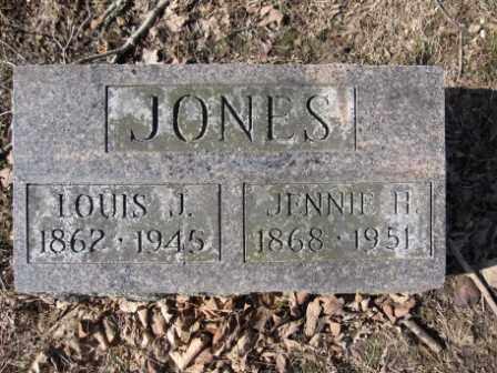 JONES, LOUIS J. - Union County, Ohio | LOUIS J. JONES - Ohio Gravestone Photos