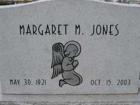 JONES, MARGARET M. - Union County, Ohio   MARGARET M. JONES - Ohio Gravestone Photos
