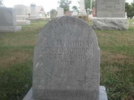 JORDAN, FLORENTINA - Union County, Ohio | FLORENTINA JORDAN - Ohio Gravestone Photos