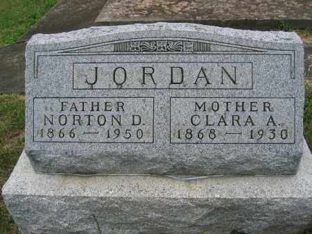 JORDAN, NORTON D. - Union County, Ohio | NORTON D. JORDAN - Ohio Gravestone Photos