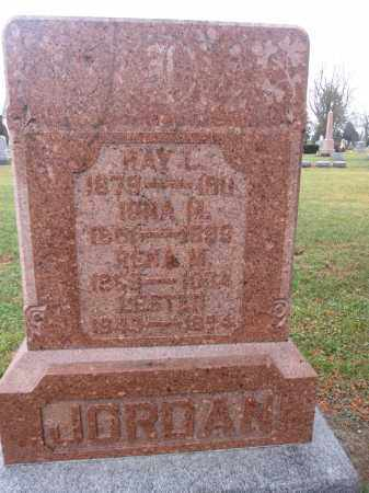JORDAN, LESTER - Union County, Ohio | LESTER JORDAN - Ohio Gravestone Photos