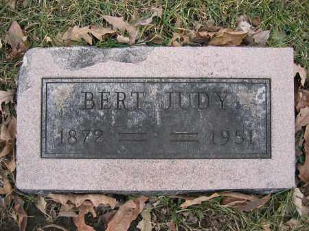 JUDY, BERT - Union County, Ohio   BERT JUDY - Ohio Gravestone Photos