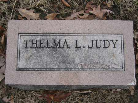 JUDY, THELMA L. - Union County, Ohio | THELMA L. JUDY - Ohio Gravestone Photos