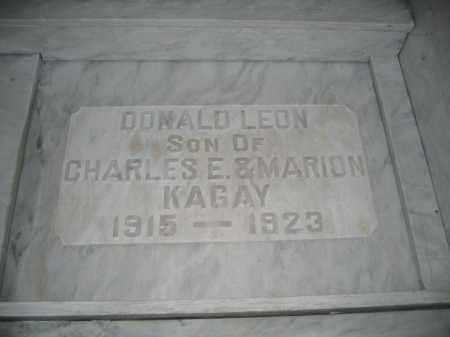 KAGAY, DONALD LEON - Union County, Ohio | DONALD LEON KAGAY - Ohio Gravestone Photos