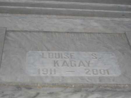 KAGAY, LOUISE S. - Union County, Ohio | LOUISE S. KAGAY - Ohio Gravestone Photos