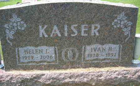 KAISER, IVAN H. - Union County, Ohio   IVAN H. KAISER - Ohio Gravestone Photos
