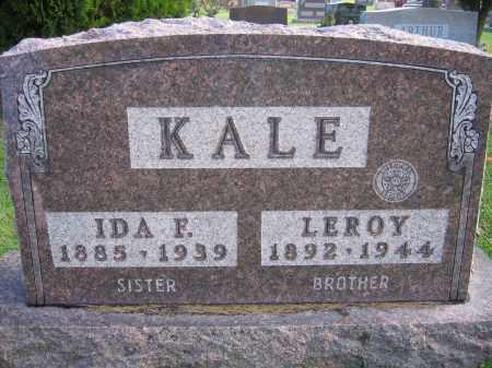 KALE, LEROY - Union County, Ohio | LEROY KALE - Ohio Gravestone Photos