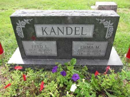 KANDEL, FRED L. - Union County, Ohio | FRED L. KANDEL - Ohio Gravestone Photos