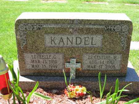 KANDEL, LUTRELLE G. - Union County, Ohio | LUTRELLE G. KANDEL - Ohio Gravestone Photos