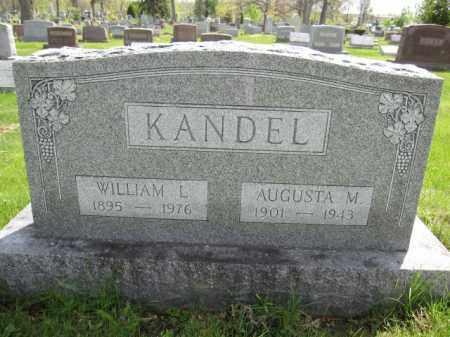 KANDEL, WILLIAM L. - Union County, Ohio   WILLIAM L. KANDEL - Ohio Gravestone Photos