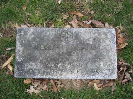 KANE, JOSEPH - Union County, Ohio | JOSEPH KANE - Ohio Gravestone Photos