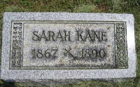 KANE, SARAH - Union County, Ohio | SARAH KANE - Ohio Gravestone Photos