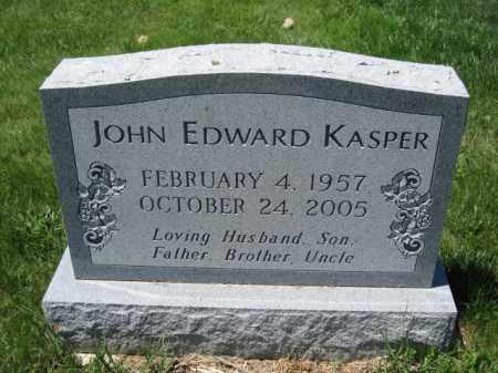 KASPER, JOHN EDWARD - Union County, Ohio | JOHN EDWARD KASPER - Ohio Gravestone Photos