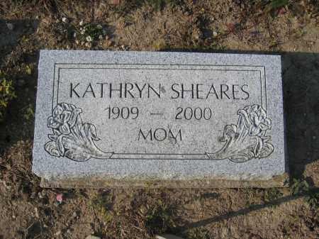 SHEARES, KATHRYN - Union County, Ohio | KATHRYN SHEARES - Ohio Gravestone Photos
