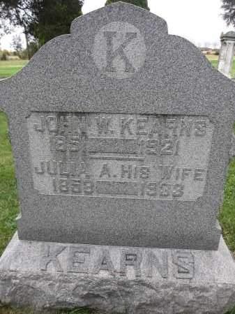 KEARNS, ETHEL - Union County, Ohio | ETHEL KEARNS - Ohio Gravestone Photos