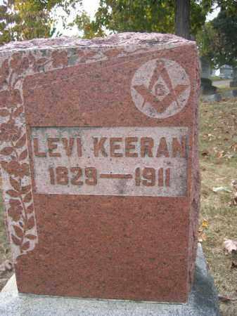 KEERAN, LEVI - Union County, Ohio | LEVI KEERAN - Ohio Gravestone Photos