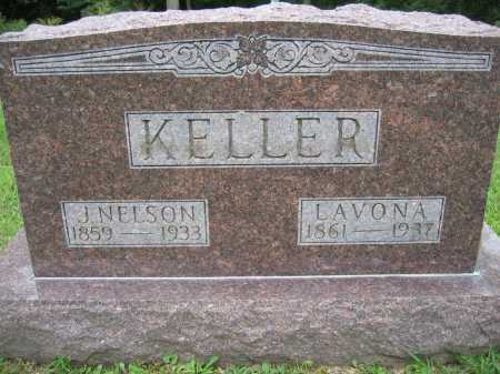KELLER, LAVONA - Union County, Ohio | LAVONA KELLER - Ohio Gravestone Photos