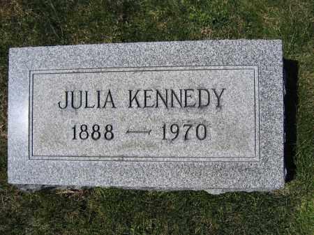 KENNEDY, JULIA - Union County, Ohio | JULIA KENNEDY - Ohio Gravestone Photos