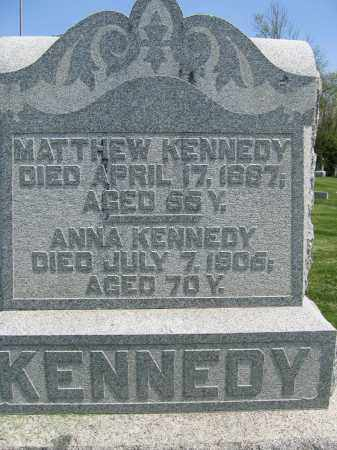KENNEDY, ANNA - Union County, Ohio | ANNA KENNEDY - Ohio Gravestone Photos
