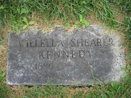 KENNEDY, WILLELLA SHEARER - Union County, Ohio | WILLELLA SHEARER KENNEDY - Ohio Gravestone Photos