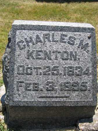 KENTON, CHARLES M. - Union County, Ohio   CHARLES M. KENTON - Ohio Gravestone Photos