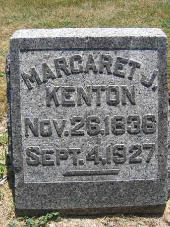 KENTON, MARGARET J. - Union County, Ohio   MARGARET J. KENTON - Ohio Gravestone Photos