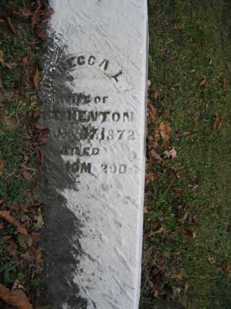 KENTON, REBECCA L. - Union County, Ohio | REBECCA L. KENTON - Ohio Gravestone Photos