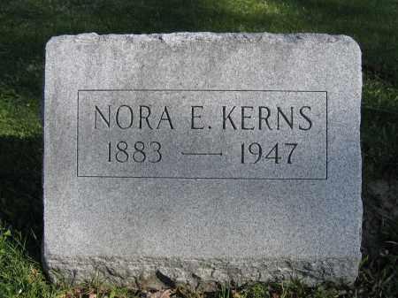 KERNS, NORA E. - Union County, Ohio | NORA E. KERNS - Ohio Gravestone Photos