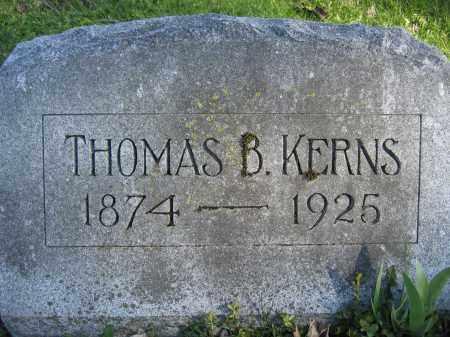 KERNS, THOMAS B. - Union County, Ohio | THOMAS B. KERNS - Ohio Gravestone Photos