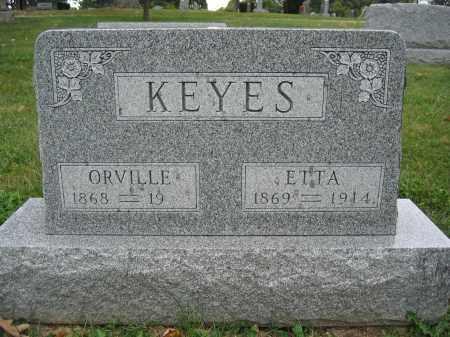 KEYES, ORVILLE - Union County, Ohio | ORVILLE KEYES - Ohio Gravestone Photos