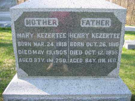 KEZERTEE, MARY - Union County, Ohio | MARY KEZERTEE - Ohio Gravestone Photos