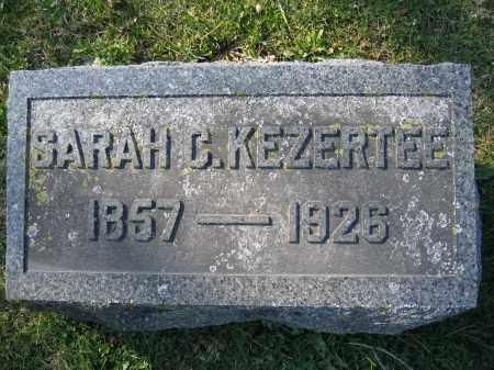 KEZERTEE, SARAH C - Union County, Ohio   SARAH C KEZERTEE - Ohio Gravestone Photos