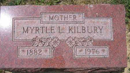 KILBURY, MYRTLE L. - Union County, Ohio | MYRTLE L. KILBURY - Ohio Gravestone Photos